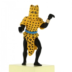 Collectible Figure Tintin The Leopard Man Moulinsart 31cm 46004 (2018)