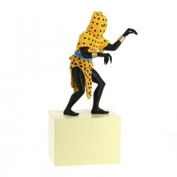 Figura de colección Tintín El hombre Leopardo Moulinsart 31cm 46004 (2018)