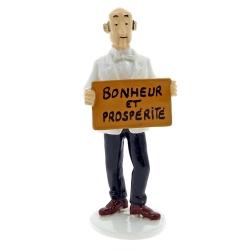 Collectible figure Tintin Nestor the butler Carte de voeux 1972 (46505)