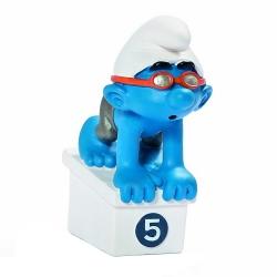 Figura Schleich® El Pitufo nadador Equipo Olímpico Belga 2012 (40266)