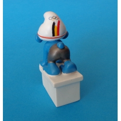 Schleich® Figure - The Swimmer Smurf Belgian Olympic Team 2012 (40266)