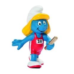 Figura Schleich® La Pitufa corredora de relé Equipo Olímpico Belga 2012 (40268)