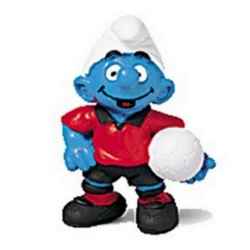 The Smurfs Schleich® Figure - The Smurf Footballer (20454)