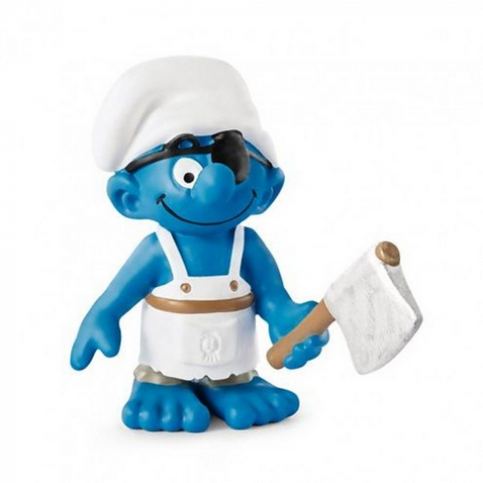 The Smurfs Schleich® Figure - The Ship's Cook Pirate Smurf (20764)