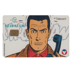 Collectible Phone Card Belgacom Michel Vaillant (1998)