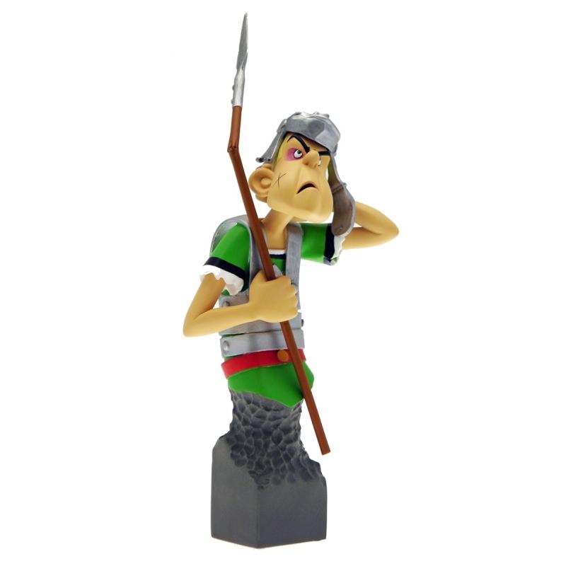 Figura de colecci  n  el busto del romano gutzufus attakus petibonum (as008)