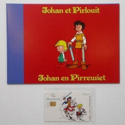 Collectible Phone Card Belgacom Johan and Peewit (2002)