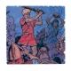 Placa de mármol de colección Alix Las Legiones perdidas Nº40 (20x20cm)