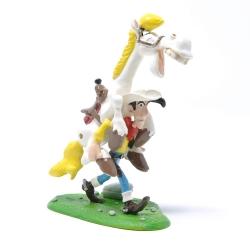 Figura de colección Pixi Lucky Luke levando a Jolly Jumper 5454  (2001)