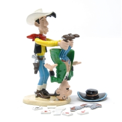 Figurine de collection Pixi Lucky Luke secouant le tricheur 5470 (2007)