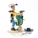 Figura de colección Pixi Lucky Luke sacudiendo el tramposo 5470 (2007)
