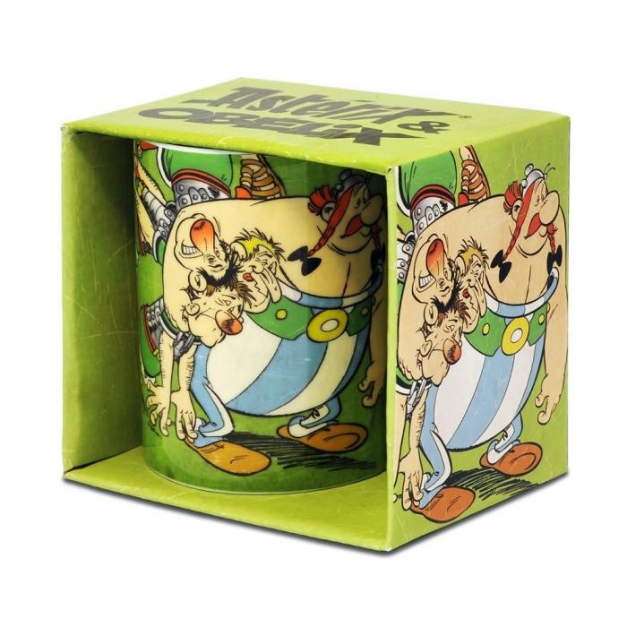 Tasse mug en porcelaine Logoshirt® Astérix et Obélix (Romains)