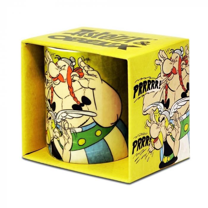 Porcelain mug Logoshirt® Astérix and Obélix (Prrrrr!)