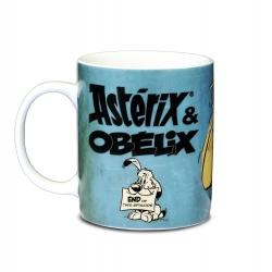 Tasse mug en porcelaine Logoshirt® Astérix et Obélix (Toc ! Toc ! Toc !)