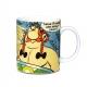 Taza mug en porcelana Logoshirt® Astérix y Obélix (Toc ! Toc ! Toc !)