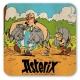 Posavasos Logoshirt® Astérix y Obélix 10x10cm (Caza de Jabalí)