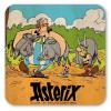 Posavaso Logoshirt® Astérix y Obélix 10x10cm (Caza de Jabalí)
