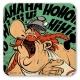 Asterix and Obelix Logoshirt® Coaster 10x10cm (HaHaHiHiHoHo)
