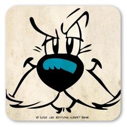 Asterix and Obelix Logoshirt® Coaster 10x10cm (Dogmatix)