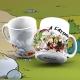 Tasse mug en porcelaine SD Toys Astérix (L'Attaque)