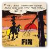Posavaso Logoshirt® Lucky Luke 10x10cm (I'm a Poor Lonesome Cowboy)