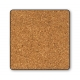 Posavaso Logoshirt® Lucky Luke 10x10cm (Los Dalton de nuevo atrapados)
