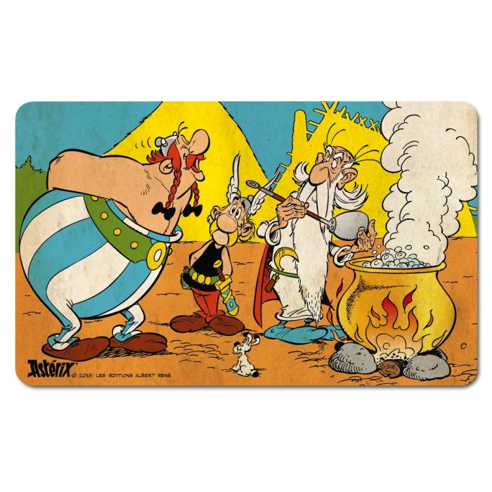 Breakfast Cutting Board Logoshirt® Astérix and Obélix 23x14cm (Magic Potion)