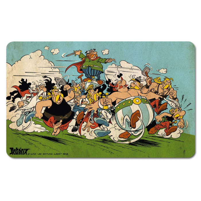 Breakfast Cutting Board Logoshirt® Astérix and Obélix 23x14cm (Attacking)