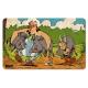 Breakfast Cutting Board Logoshirt® Astérix and Obélix 23x14cm (Boar Hunting)