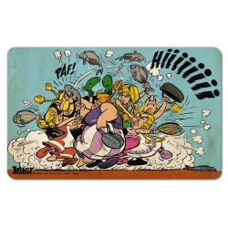 Breakfast Cutting Board Logoshirt® Astérix and Obélix 23x14cm (Fish Battle)