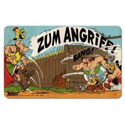 Planche à petit-déjeuner Logoshirt® Astérix et Obélix 23x14cm (Zum Angriff!)
