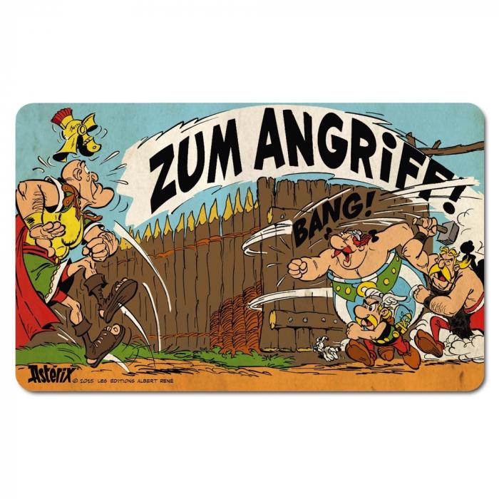 Tabla de desayuno Logoshirt® Astérix y Obélix 23x14cm (Zum Angriff!)
