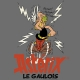 T-shirt 100% cotton Logoshirt® Asterix drinking the magic potion (Grey)