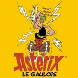 T-shirt 100% cotton Logoshirt® Asterix drinking the magic potion (Yellow)