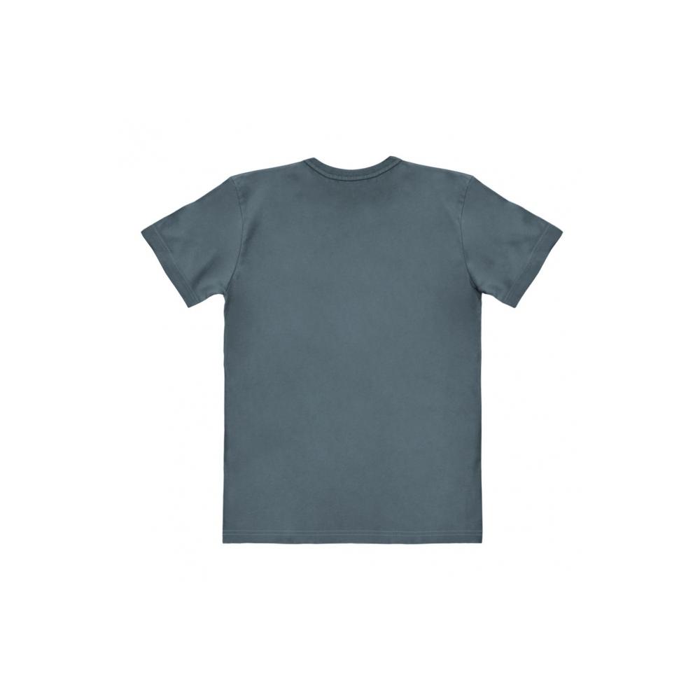 t shirt 100 coton logoshirt easy fit lucky luke portrait bleu bd addik. Black Bedroom Furniture Sets. Home Design Ideas