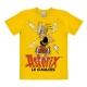 T-shirt 100% coton Logoshirt® Astérix buvant la potion magique (Jaune)