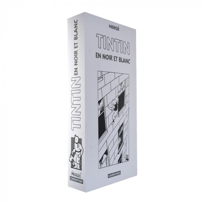 Coffret de 9 albums des aventures de Tintin en noir et blanc, Casterman (2012)