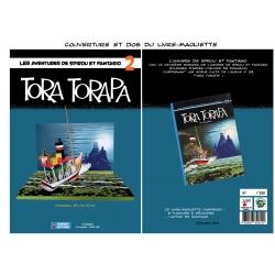 Diorama de colección Toubédé Editions Spirou: Tora Torapa (2017)