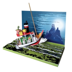 Diorama de collection Toubédé Editions Spirou: Tora Torapa (2017)
