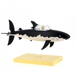 Figurine de collection Moulinsart Tintin et Milou Le Sous-marin Requin (2018)