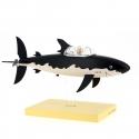 Figura de colección Moulinsart Tintín y Milú en el Tiburón Submarino (2018)