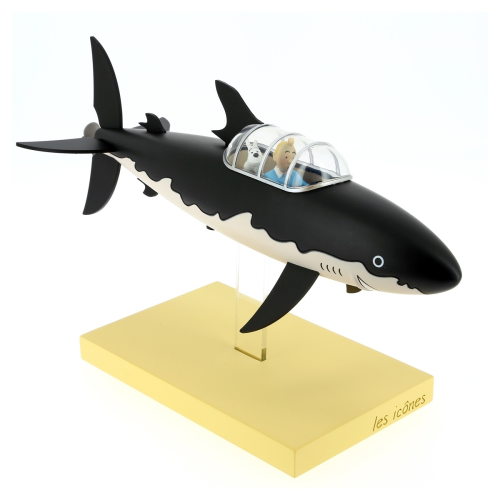 Collectible figure Moulinsart Tintin and Snowy in the