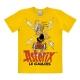 Camiseta 100% algodón Logoshirt® Astérix bebiendo la poción mágica (Amarillo)