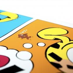 Collectible Portfolio LPR Editions Marsupilami, Batem (50x50cm)