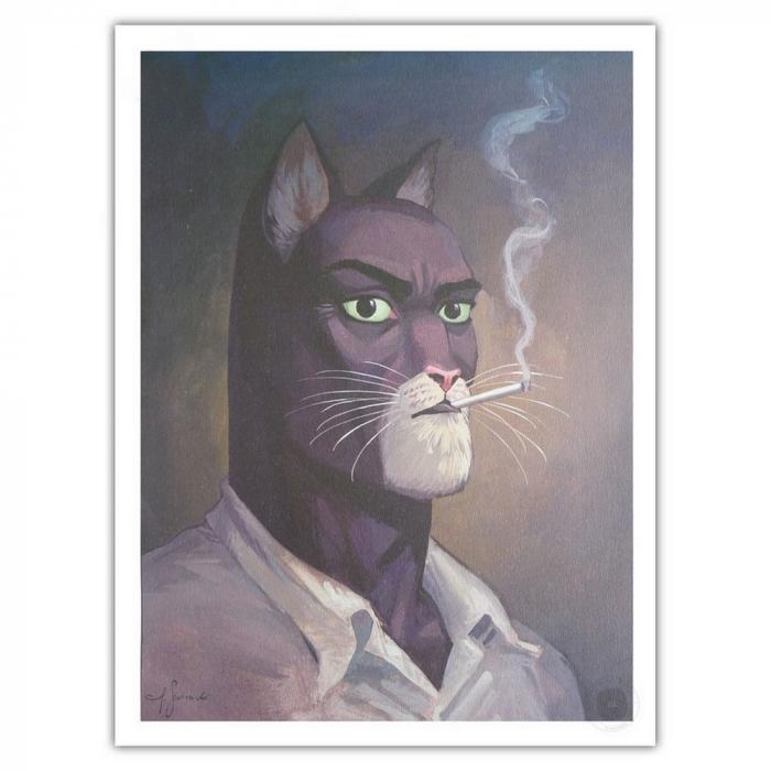 Poster offset Blacksad Juanjo Guarnido, John Portrait (30x40cm)