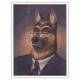Póster cartel offset Blacksad Juanjo Guarnido, Retrato de Smirnov (30x40cm)