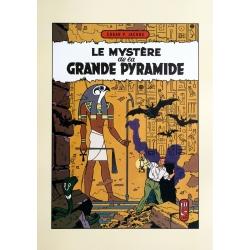 Poster offset Blake and Mortimer, Le Mystère de la Grande Pyramide (50x70cm)