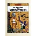Póster cartel offset Blake y Mortimer Le Mystère de la Grande Pyramide (50x70cm)