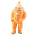 Figurine de collection Tintin en cosmonaute 7cm LU (1994)