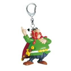 Porte-clés figurine Plastoy Astérix Abraracourcix 60409 (2015)
